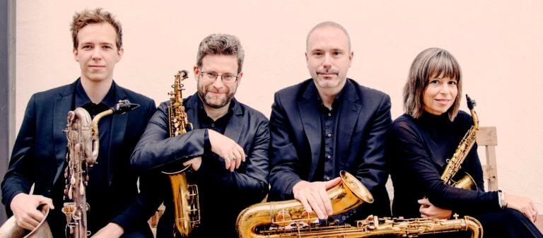 Rascher Saxophone Quartet Group photo