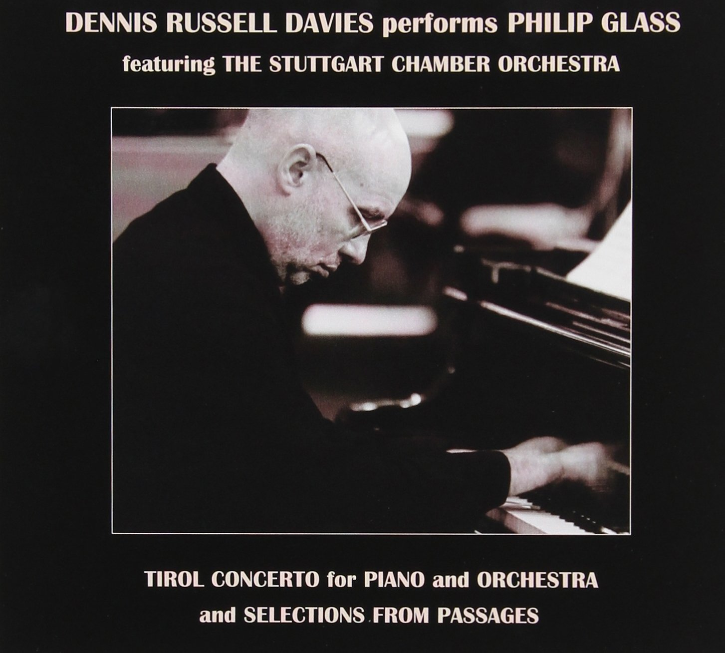 Dennis Russel Davies Glass Cover